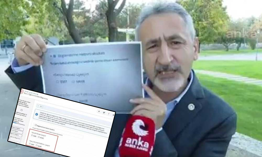 Kurum doğruladı! Üniversite yurduna girmek için AKP'li olmak lazım