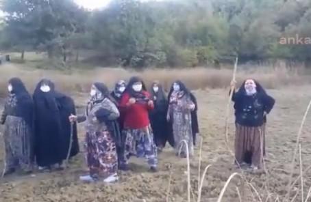Kirazlıyayla köyünde kadınlar nöbette: Gerekirse Ankara'ya kadar yürüyeceğiz