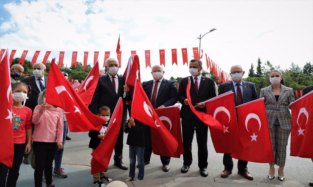 Muğla'da Cumhuriyet coşkusu yaşanıyor
