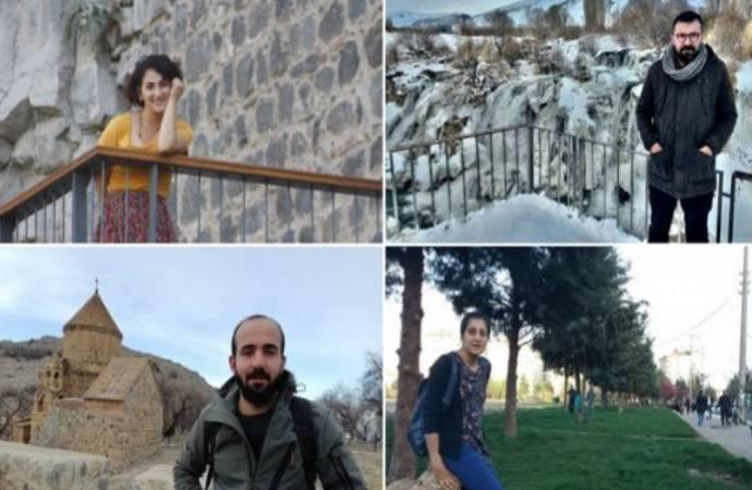 Helikopterden atılma haberini yapan Uğur'la birlikte 4 gazeteci gözaltında