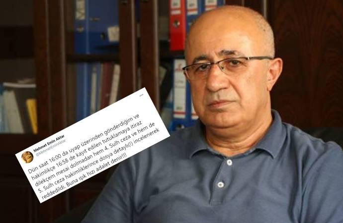 Eski baro başkanı Aktar: Buna ışık hızı adalet denir!