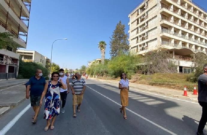 'Hayalet şehir' Kapalı Maraş'ın bir kısmı halka açıldı