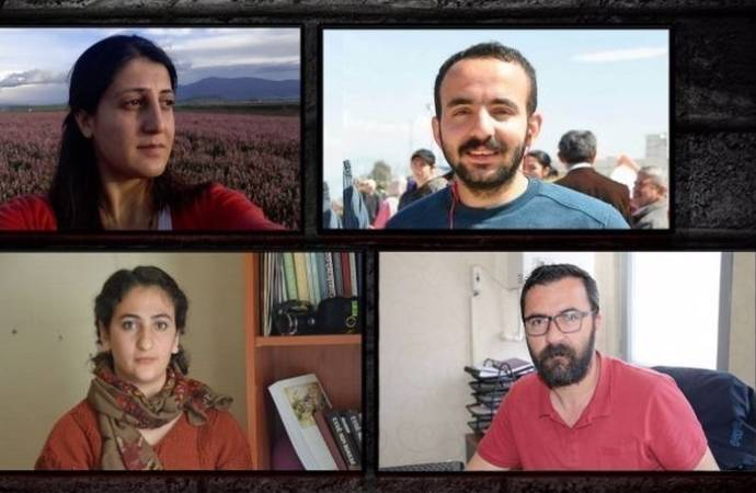 Gözaltındaki gazetecilere mesleki faaliyet sorgusu