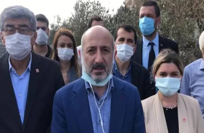 CHP heyeti Hatay'da incelemelerde bulundu: Yanmıyor, yakılıyor