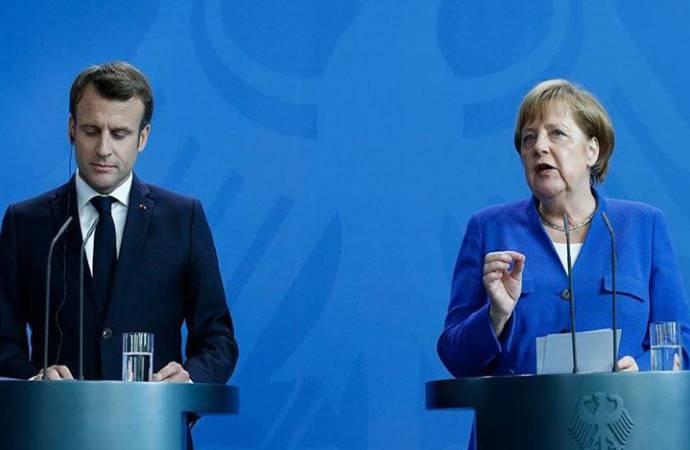 Merkel: Türkiye'nin Akdeniz'de gerilimi tetiklediği konusunda mutabakata vardık