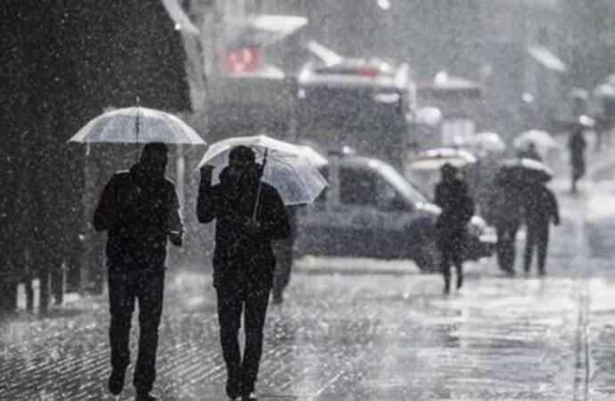 Meteoroloji'den 3 il için sağanak yağış uyarısı!