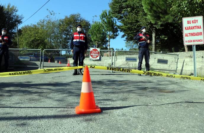 23 vaka, 75 temaslı; Zonguldak'ta bir köy karantinaya alındı