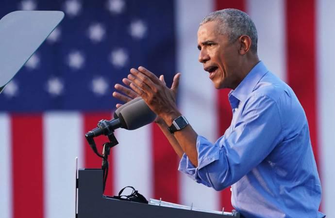 Eski ABD Başkanı Obama, Biden için sahaya indi