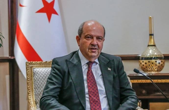 Ersin Tatar, Cumhurbaşkanlığı görevine ant içerek başladı