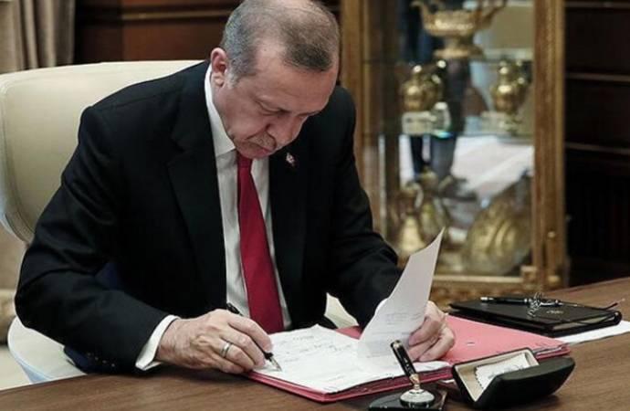AKP'li Cumhurbaşkanı Erdoğan'dan 27 atama