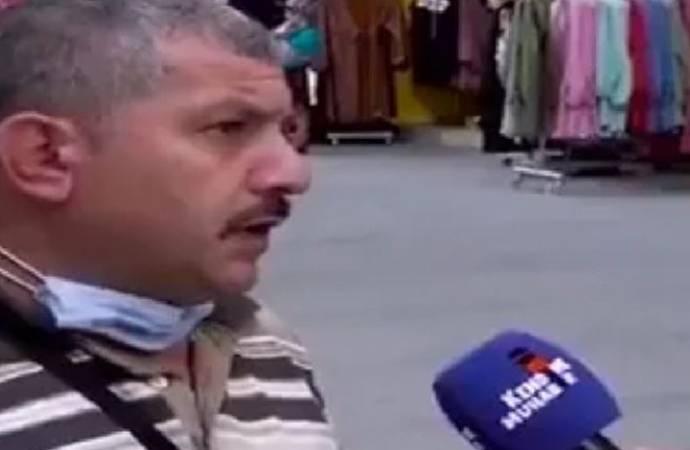 Sokak röportajında AKP'yi eleştirdi, evi basıldı