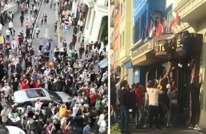 İzmir Valisi: Suriyeli birkaç genç protesto amacıyla toplanmıştır