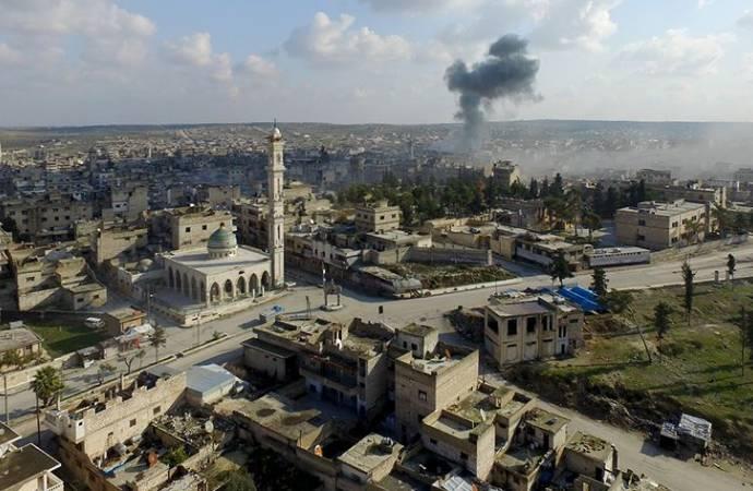 SOHR: Rusya, İdlib'de Türkiye destekli muhalifleri vurdu