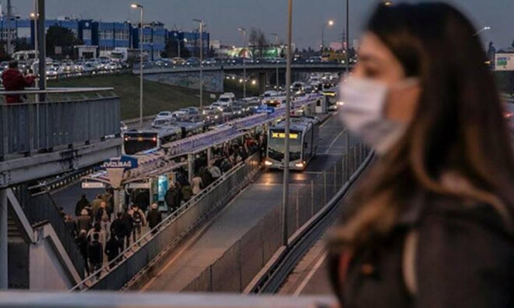 İstanbul'da 100 bin kişiye düşen hasta sayısı 15 sınırını aştı