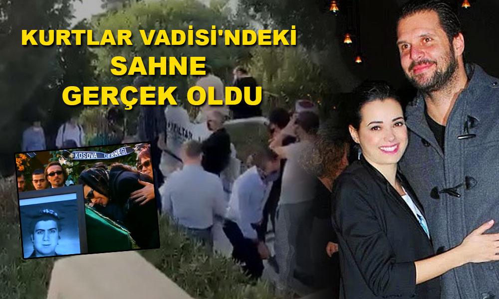 Özgü Namal eşi  Ahmet Serdar Oral'ın cenazesine katılamadı