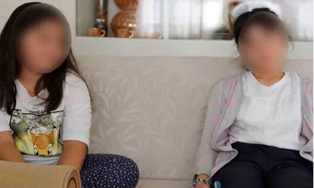 12 ve 14 yaşındaki yeğenlerini taciz etti! Küçük kızların yaşadıkları böyle görüntülendi