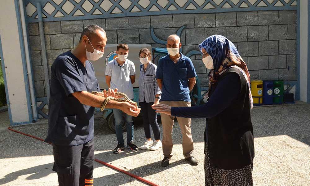 Mersin Büyükşehir Tarsus Gençlik Kampı'nda şehit yakınlarını ağırlıyor
