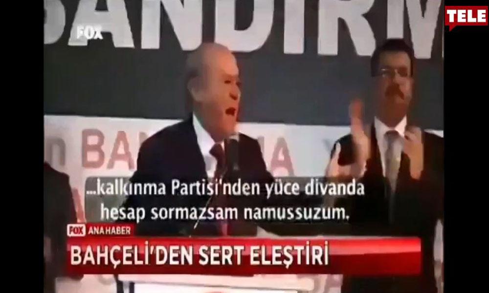 'MHP sözünün eridir' diyen Bahçeli'nin 7 yıl önceki konuşması sosyal medyada gündem oldu