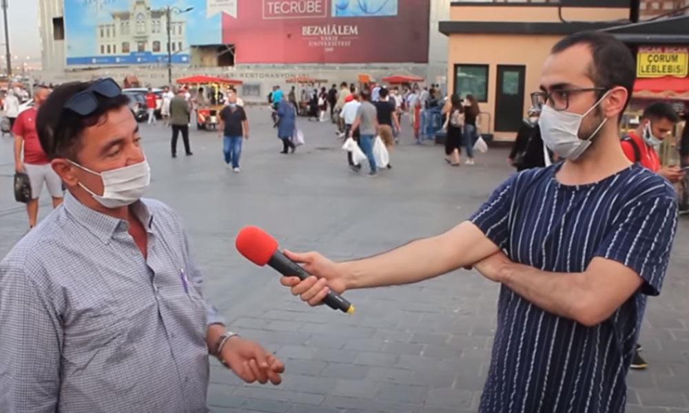 Sokak röportajı gündem oldu! Muhabirin, AKP'li seçmen karşısında sabrı taştı