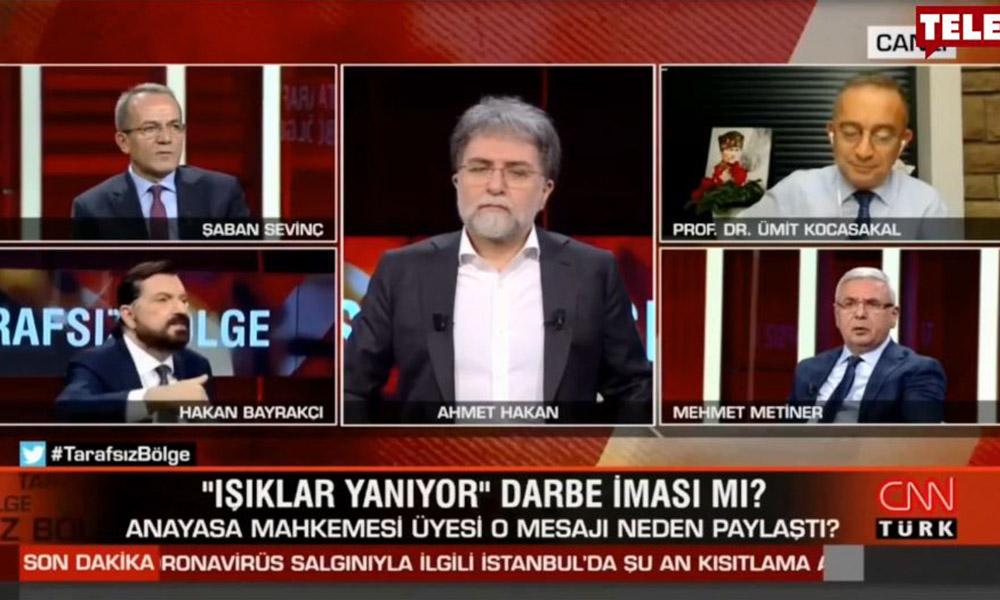 CNN Türk'te gergin anlar! AKP'li Metiner ile Hakan Bayrakçı canlı yayında birbirine girdi