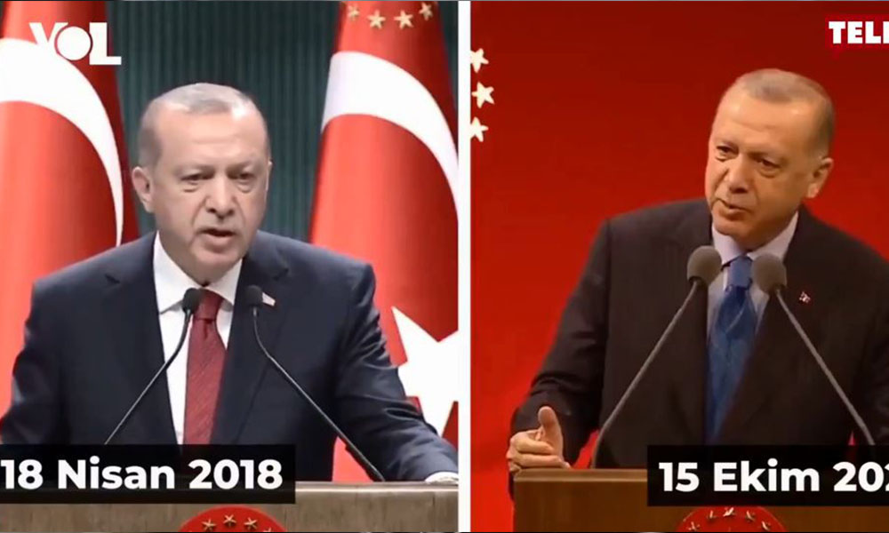 'Ne erken seçimi ya?' diyen Erdoğan'ın iki yıl önceki konuşması gündem oldu