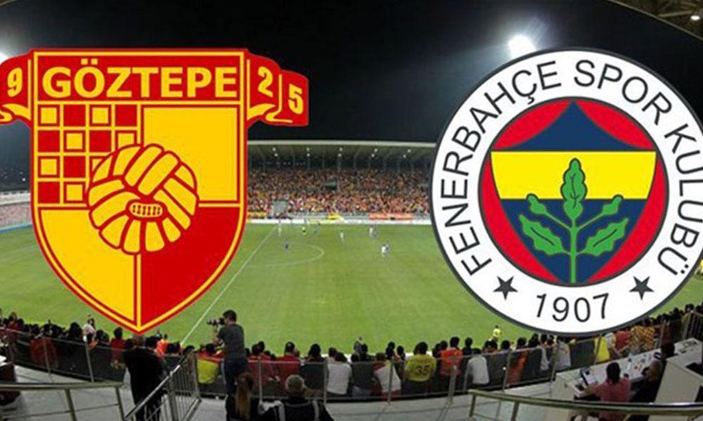 İşte zorlu Göztepe-Fenerbahçe maçının ilk 11'leri