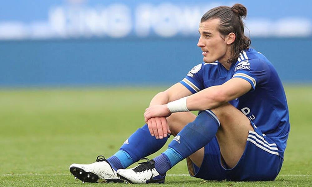 Leicester City'de Çağlar Söyüncü'den kötü haber