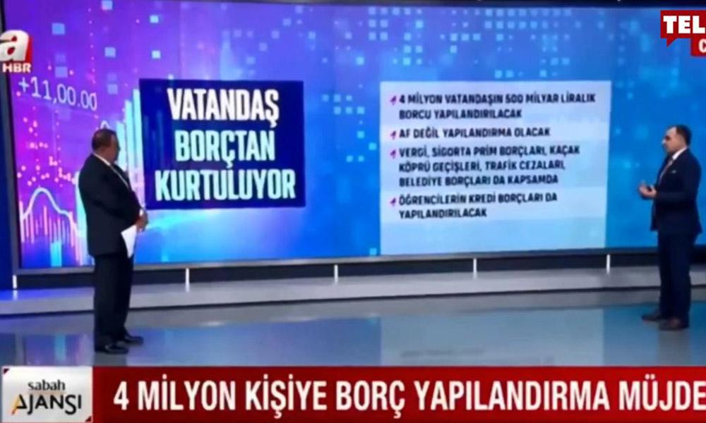 Yandaş A Haber'den pes dedirten 'müjde' haberi!