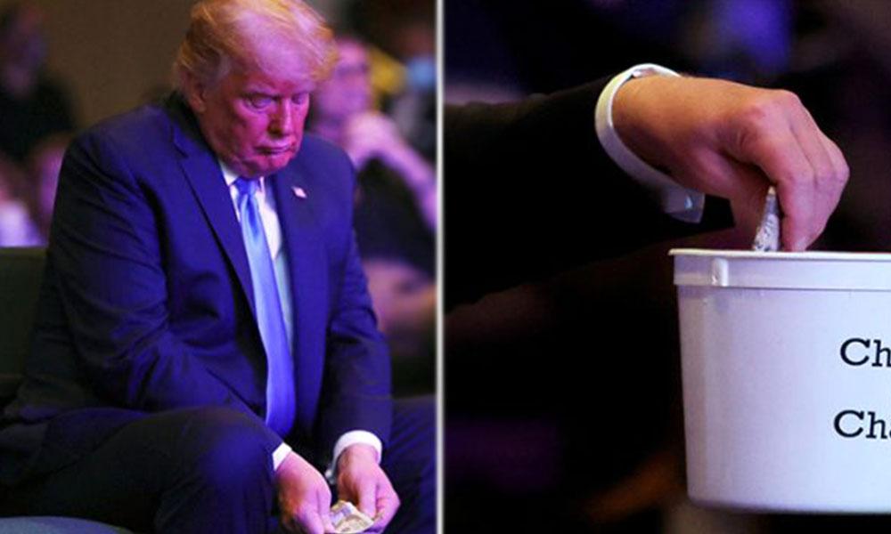 ABD Başkanı Trump'ın kiliseye yaptığı bağış gündem oldu