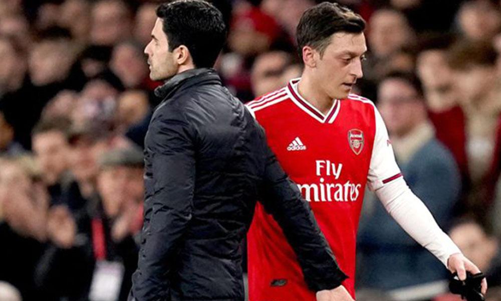 Mesut Özil'i kadro dışı bırakan Arteta'dan flaş açıklama