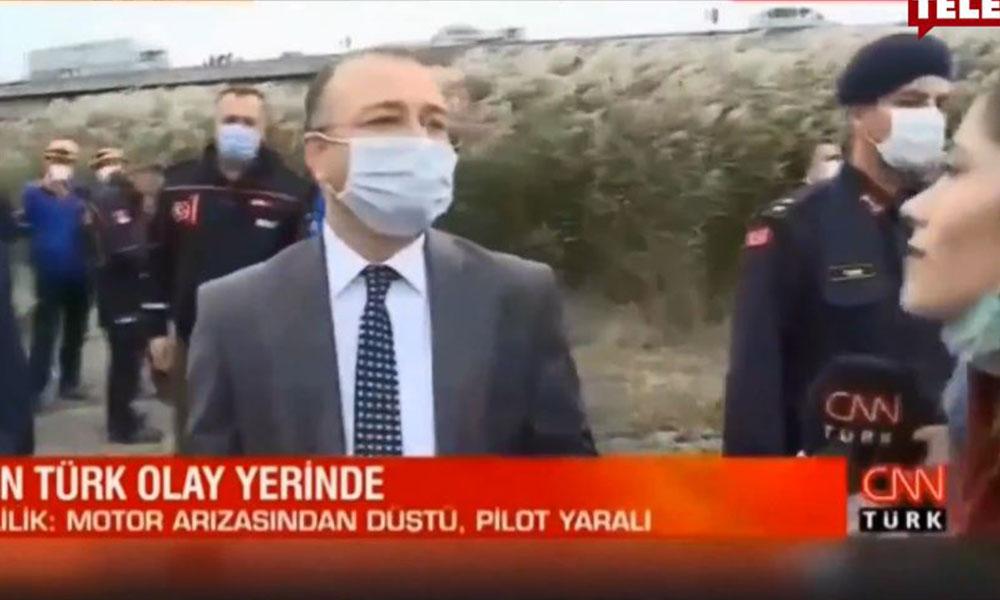 Kaymakamdan CNN Türk muhabirini şoke eden cevap