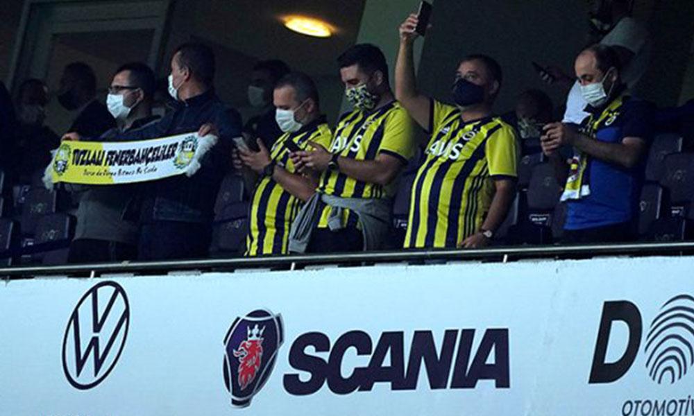 Fenerbahçe taraftarından, Trabzonsporluları kızdıracak tezahürat