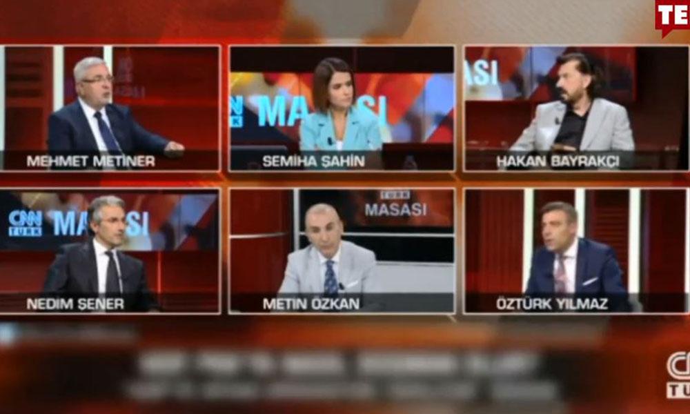 Canlı yayında AKP'li Metiner'i şaşkına çeviren Selahattin Demirtaş iddiası!