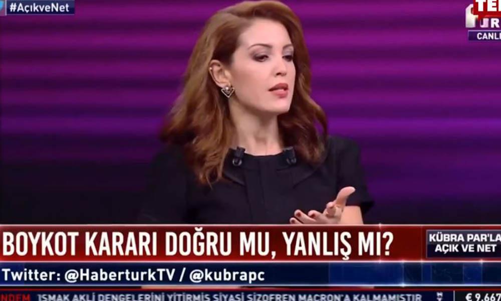 Nagehan Alçı yine şaşırtmadı! Erdoğan'ın boykot çağrısına kılıf uydurdu