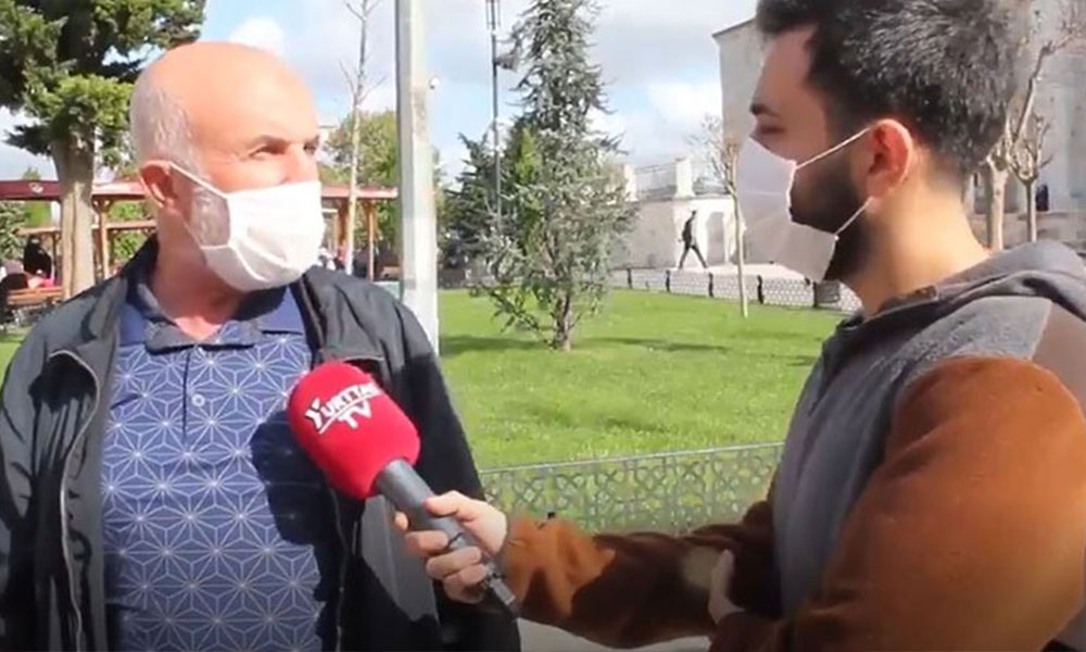 AKP'li vatandaştan pes dedirten 'ekonomi' yorumu