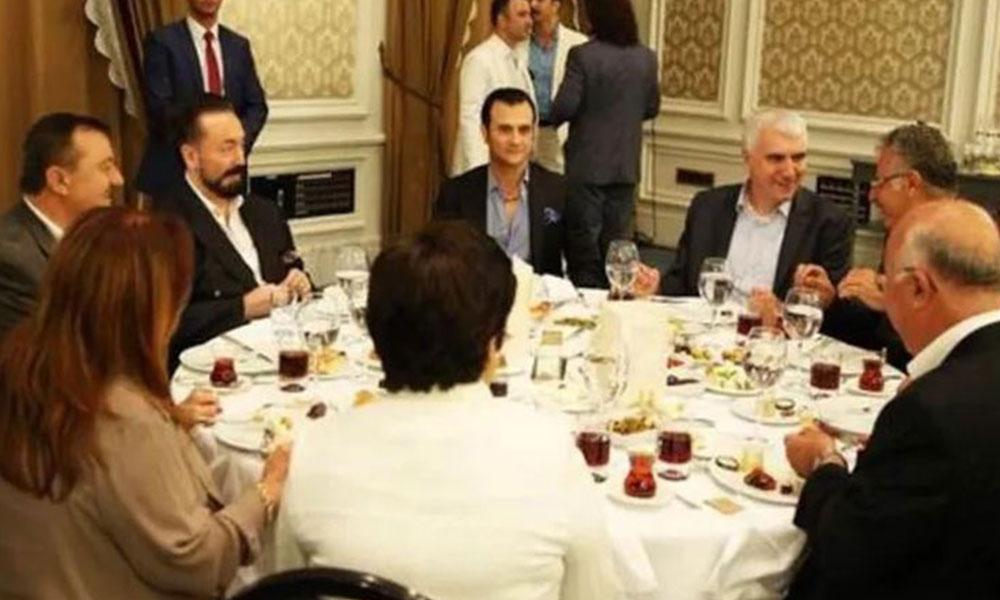AKP'li vekil, Adnan Oktar'ın masasından çıktı: Benim cemaatle, tarikatla ne işim olur?