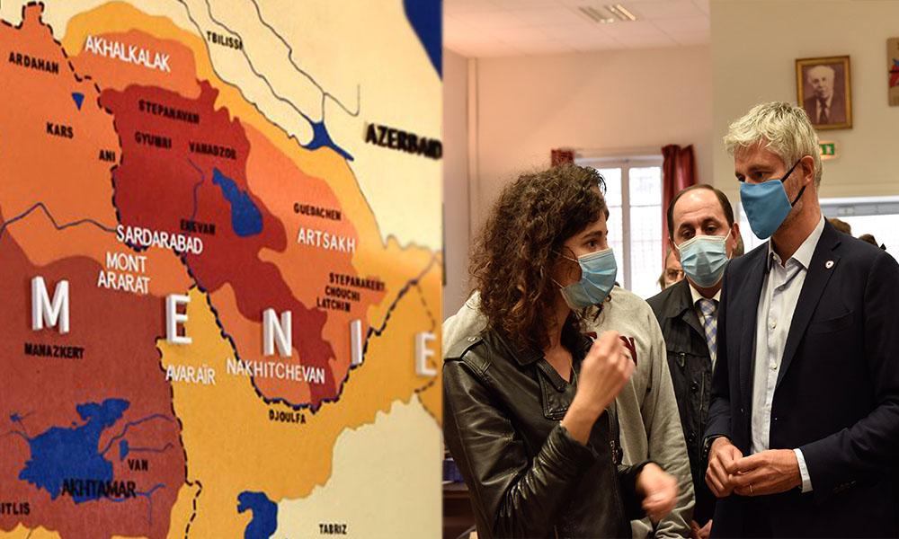 Fransız belediye başkanından skandal Türkiye haritası paylaşımı!