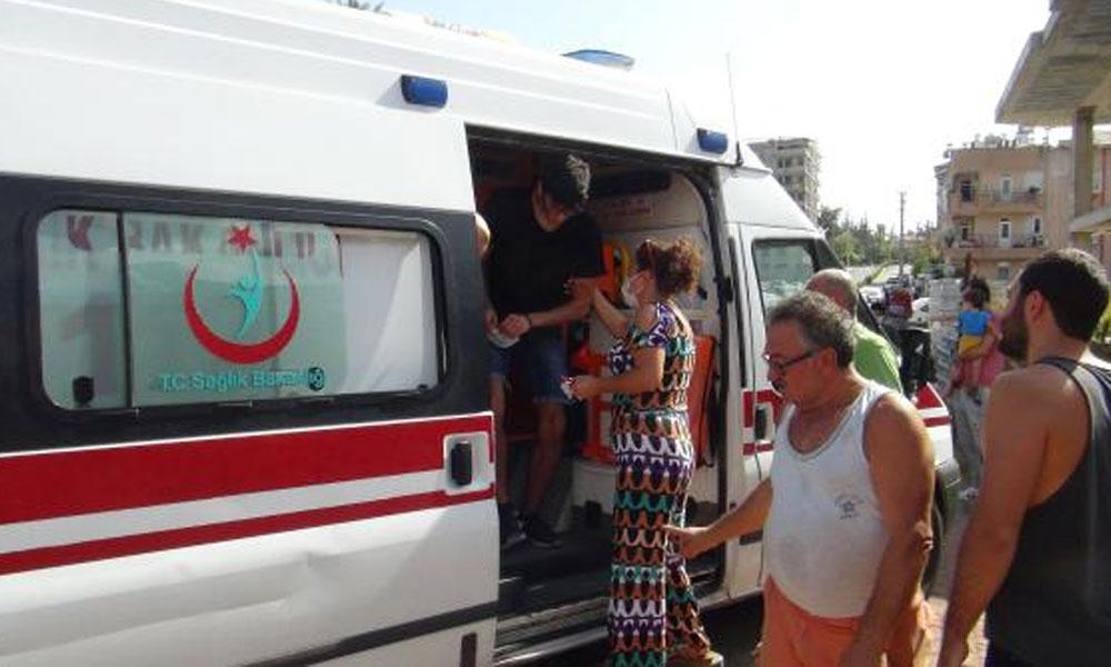 'Koronavirüs bulaşır' diye yaralıyı ambulansa bindirmediler!