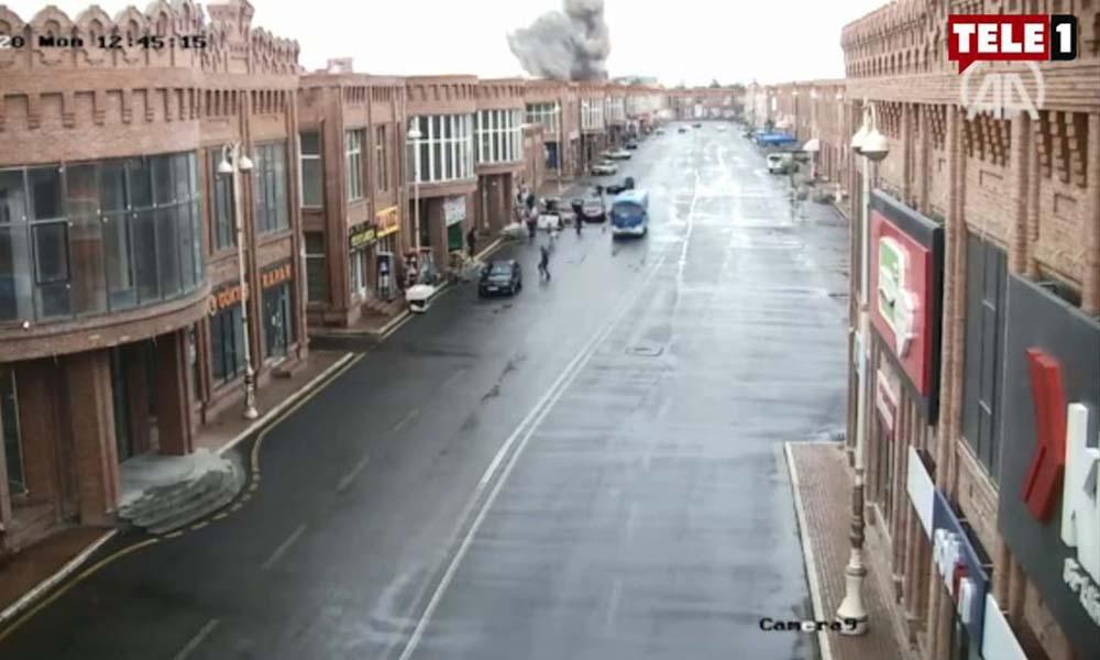 Sivil yerleşim yerlerini hedef alan Ermenistan, Gence'yi böyle vurdu!