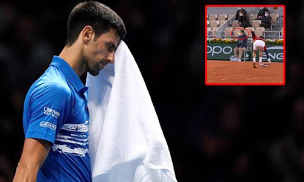 Amerika Açık'tan diskalifiye edilen Djokovic'ten ikinci top vakası!
