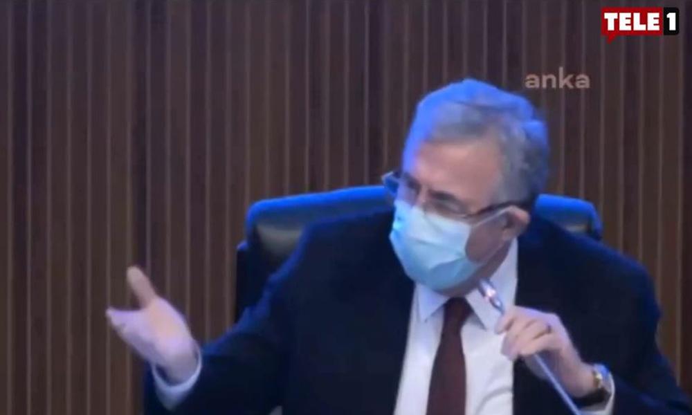 Ankara Büyükşehir Belediye Meclisi'nde gergin anlar! Mansur Yavaş çileden çıktı
