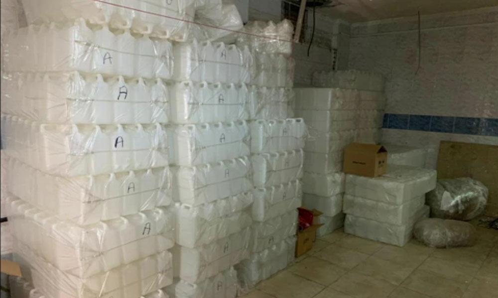 İstanbul'da 6 ton etil alkol ele geçirildi