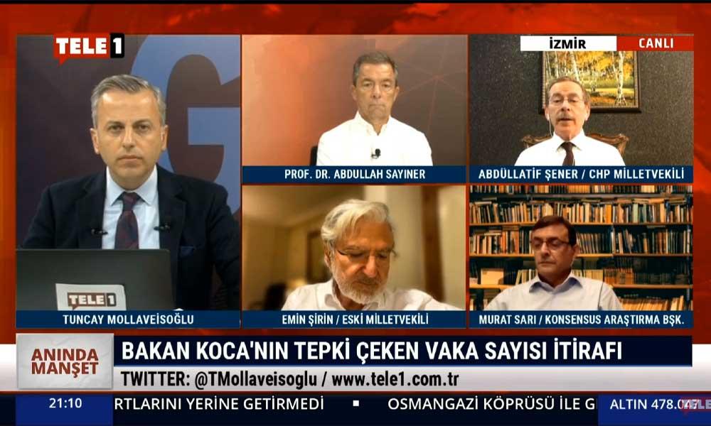 Abdüllatif Şener: Hükümet ülkede olumsuz giden her şeyin sorumlusu iken asla sorumluluğu kabul etmiyor