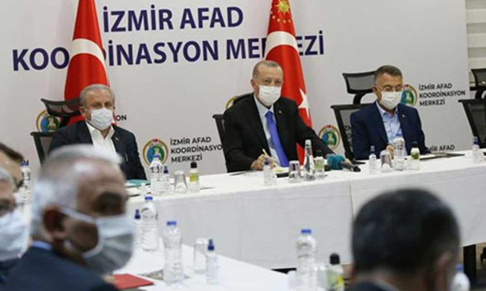 Erdoğan İzmir'de konuştu