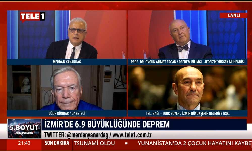 Deprem Bilimci Prof. Dr. Ahmet Ercan: İzmir'de son 120 yıldır hiç görmediğimiz bir olay oldu
