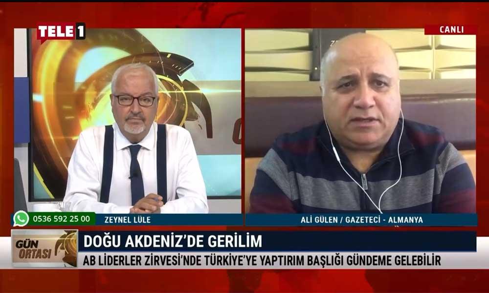 Gazeteci Ali Gülen: Almanya havuç-sopa politikası uyguluyor