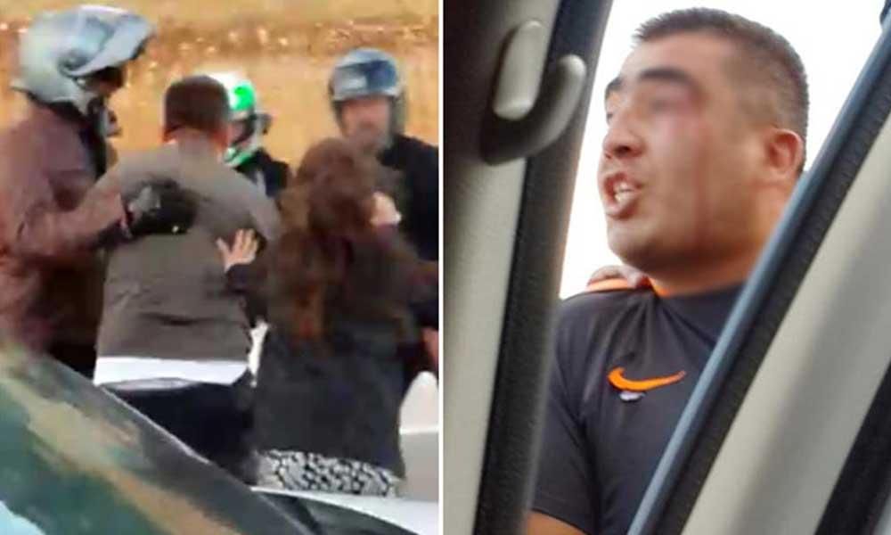 Motosikletle yollarını kesip çoluk çocuk demeden öldüresiye saldırdılar