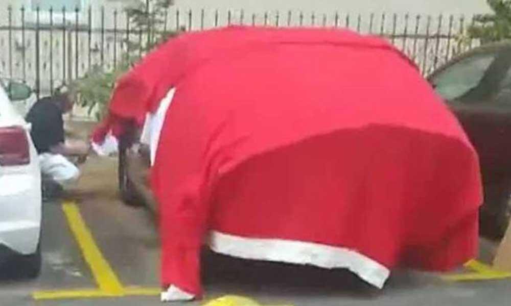 Arabasının üstüne Türk bayrağı sermişti! 'Art niyetli olarak yapmadım'
