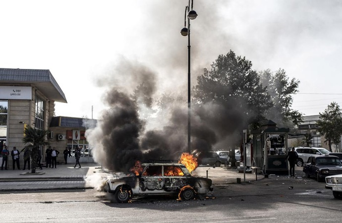 Ermenistan'dan Berde'ye füzeli saldırı: 14 ölü!