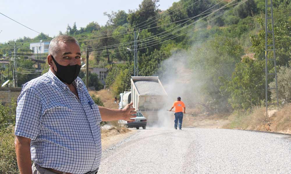 Mersin Büyükşehir Belediyesi vatandaşların asfalt taleplerini hızla karşılıyor